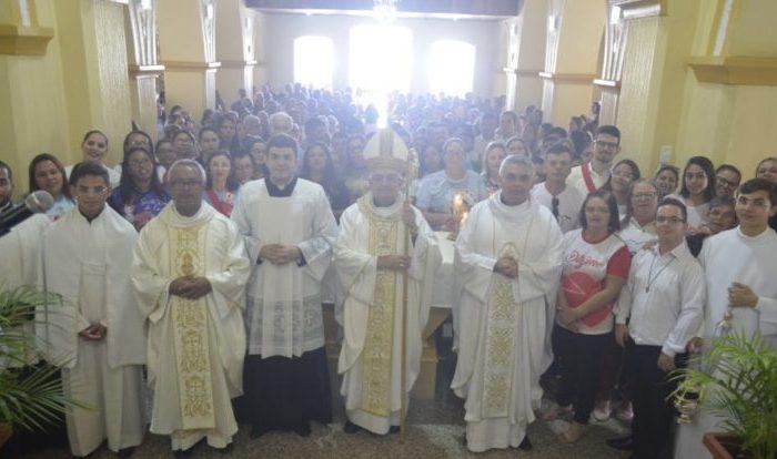 Em Boa Vista, Dom Dulcênio participa da festa do Bom Jesus dos Martírios