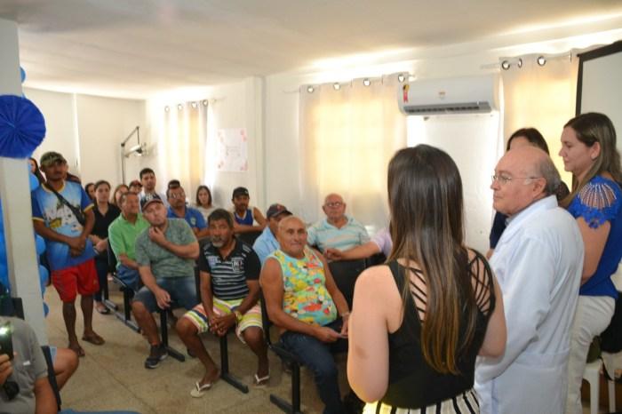 Novembro Azul é aberto oficialmente em Monteiro com palestra e café da manhã