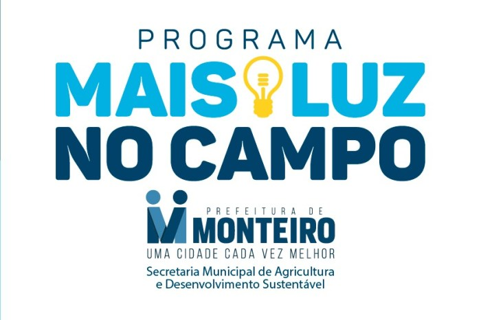 """Mais Luz no Campo"" beneficia mais 10 famílias de 4 comunidades da zona rural de Monteiro"