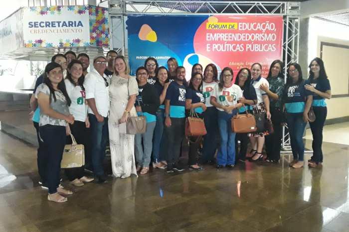 Monteiro participa do Fórum de Educação, Empreendedorismo e Políticas Públicas