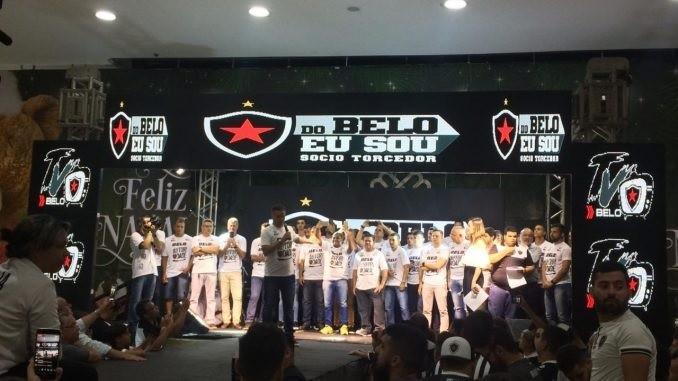 Botafogo-PB apresenta elenco oficialmente e lança novos uniformes