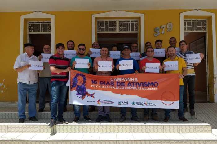 Mobilização dos Homens pelo Fim da Violência Contra as Mulheres é tema de palestra em Sumé