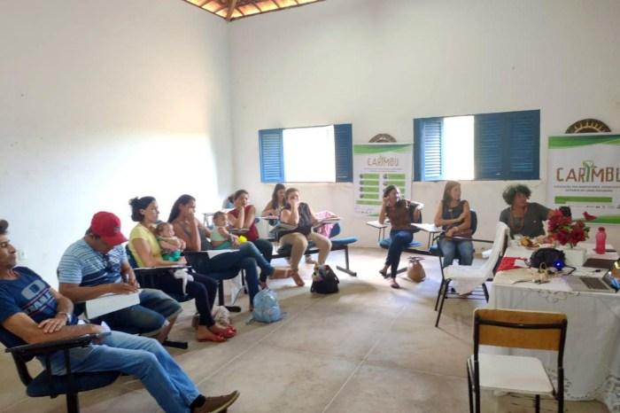 Projeto Umbu do Cariri faz avaliação de ações e planeja futuro com a associação Carimbu