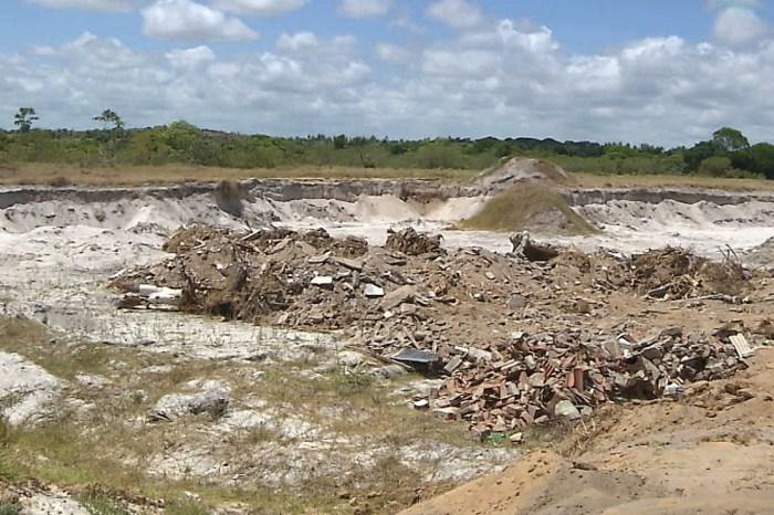Seis pessoas são detidas por extração irregular de minérios na PB