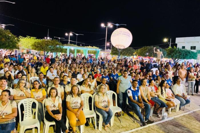 Começa 108ª Festa do Padroeiro de São Sebastião do Umbuzeiro com grande público