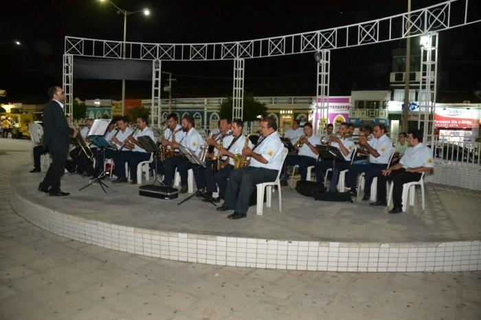 Projeto Banda de Música na Academia realiza concerto em Monteiro