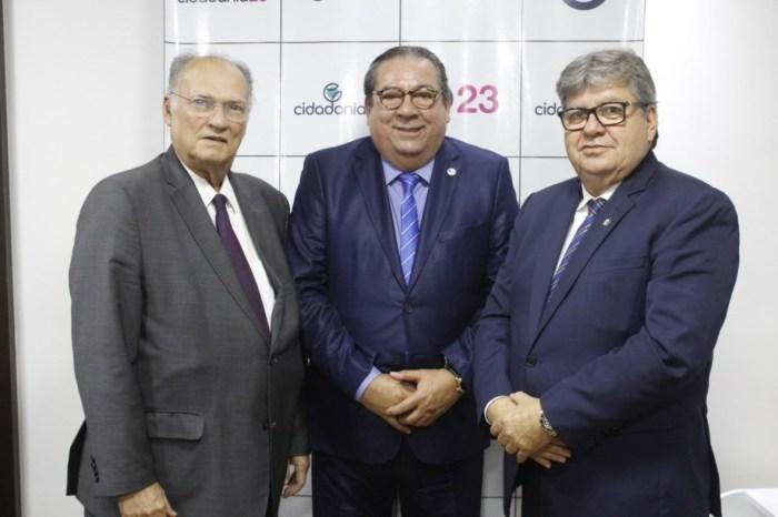 EXCLUSIVO: Com decisão de João Azevêdo, lideranças do Cariri devem anunciar filiação ao Cidadania
