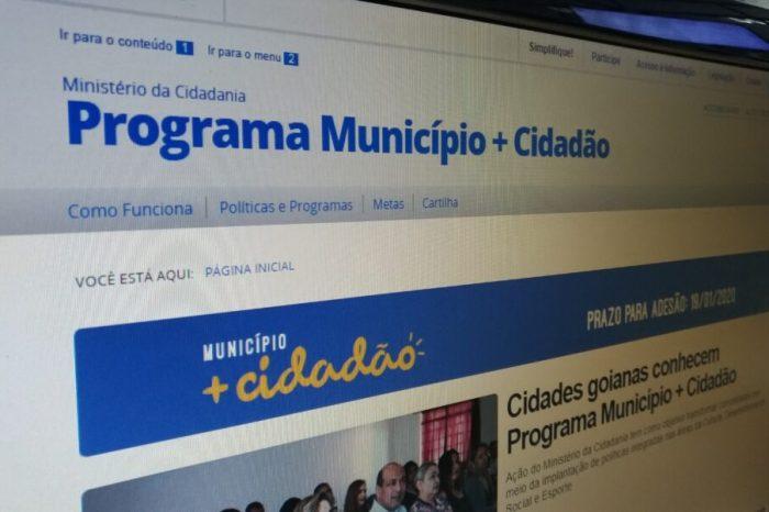 Prefeitos têm uma semana para aderir ao 'Município + Cidadão'
