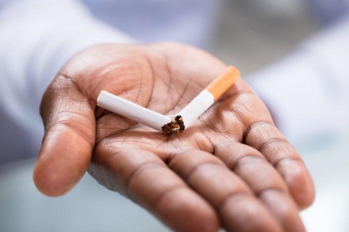 OMS prevê redução progressiva do consumo de cigarro até 2025