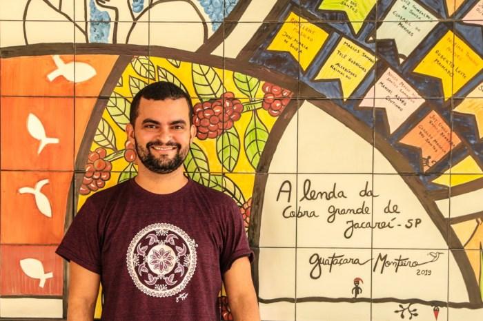 Artistas do Vale vão até o interior da Paraíba e pintam murais