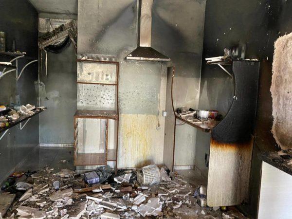 Incêndio atinge lanchonete no centro da cidade de Boa Vista, ninguém ficou ferido