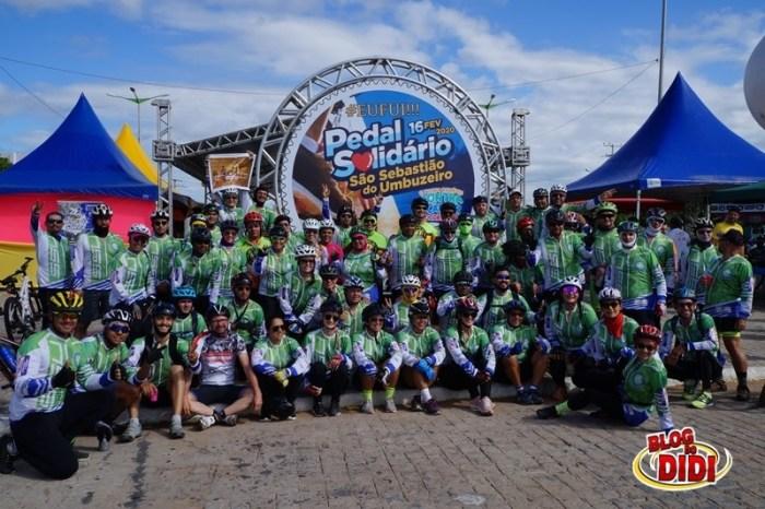 II Pedal Beneficente em Prol do Hospital da FAP é realizado com sucesso em São Sebastião do Umbuzeiro