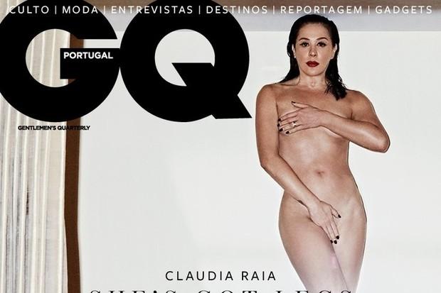 Atriz da Rede Globo posa nua para revista de Portugal