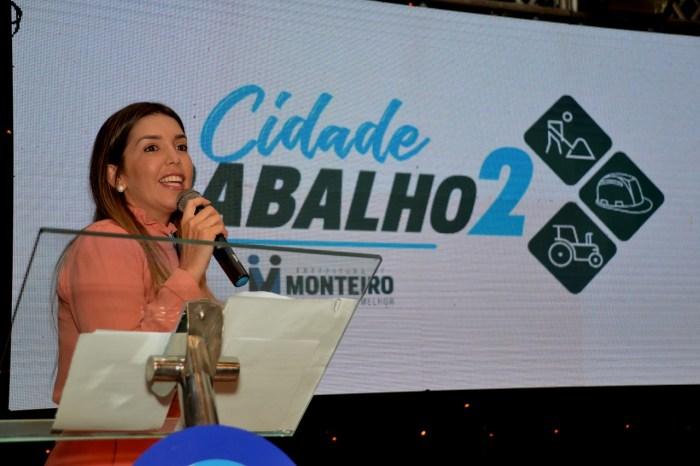 Cidade do Trabalho 2 é lançado em Monteiro com grande participação popular