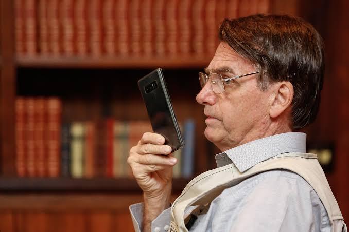 Bolsonaro divulga vídeo sobre ato convocado contra o Congresso