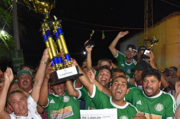 Em Serra Branca: Palmeiras das Capoeiras é campeão da Segunda Copa do Salão