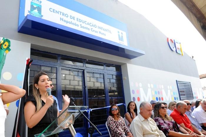 Mais pela Educação: Nova sede do Centro de Educação Infantil é Inaugurada em Monteiro