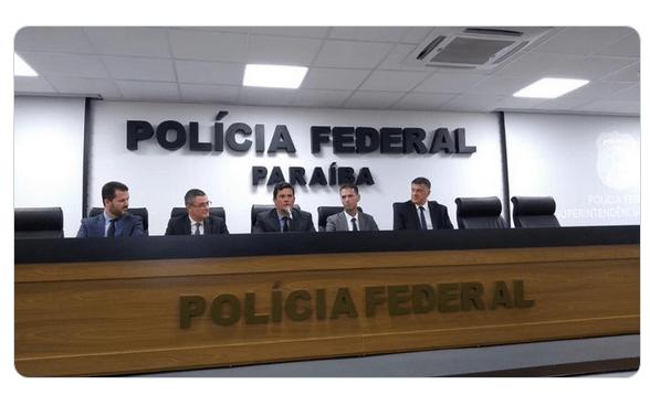 Na Paraíba, Moro destaca operações desenvolvidas pela PF