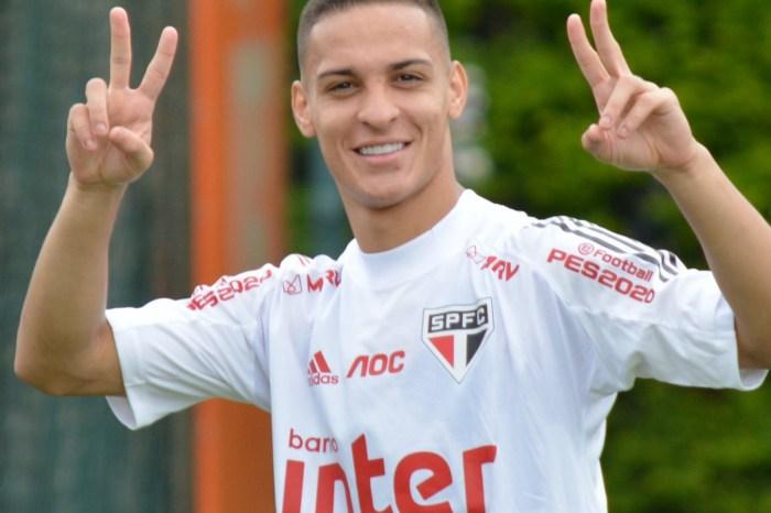 São Paulo vende Antony ao Ajax em negócio de R$ 134 milhões