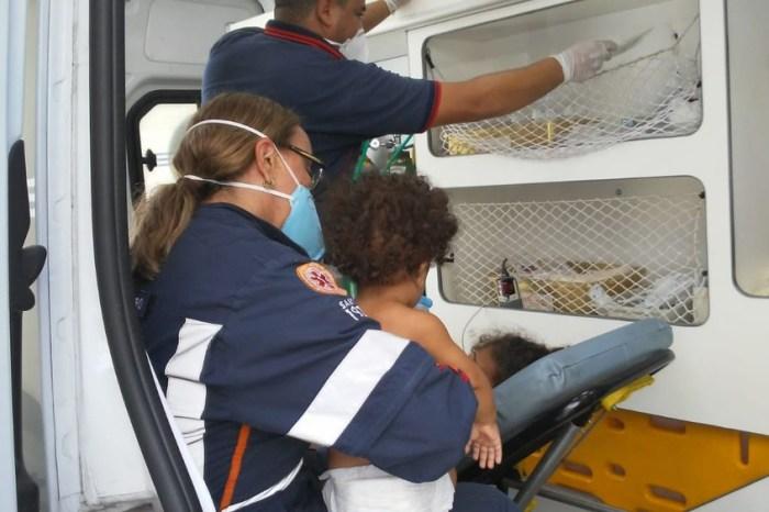 Crianças venezuelanas são internadas em UTI na capital