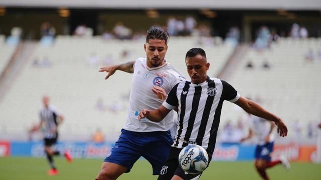 Copa do Nordeste Ceará busca empate com o Bahia