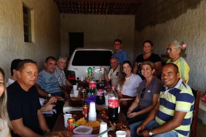 Moradores do Garapa oferecem almoço de agradecimento à prefeita Lorena e confirmam apoio