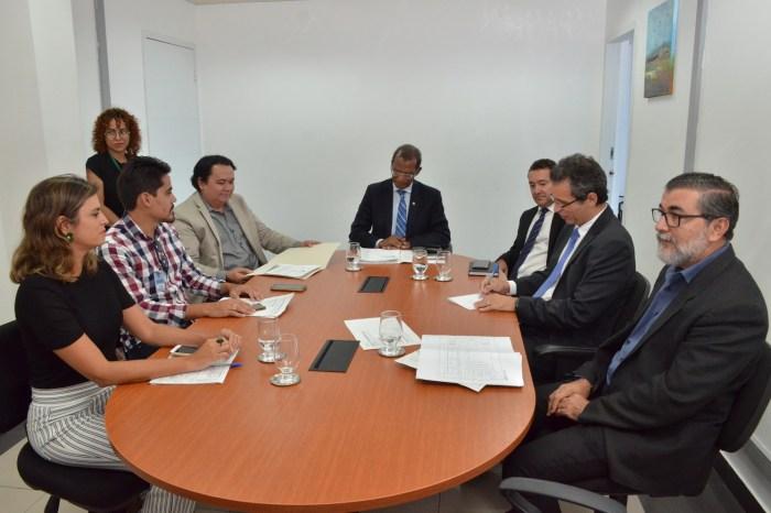 TJPB e Prefeitura de Serra Branca debatem sobre convênio para construção de novo fórum da Comarca