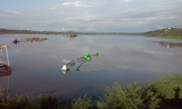 Com fortes chuvas, açude do Congo ultrapassa metade de sua capacidade de água