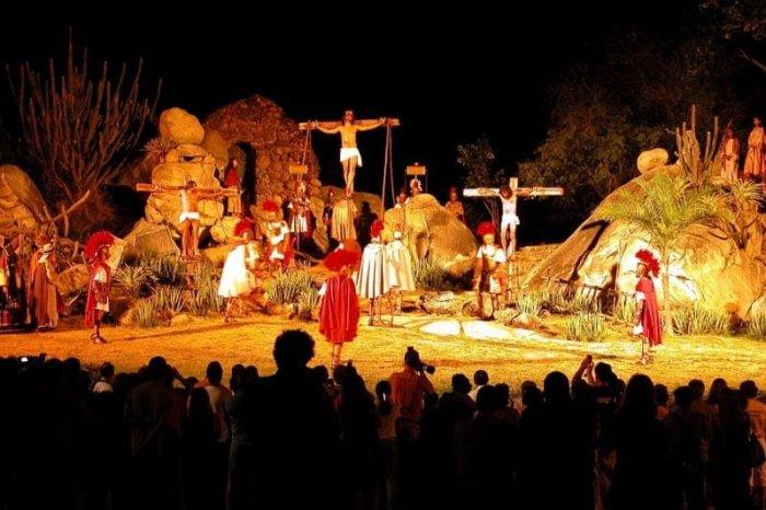 Paixão de Cristo de Nova Jerusalém é atração na Semana Santa