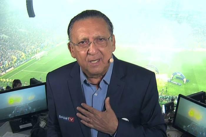 Galvão avisa que não irá narrar a próxima Copa do Mundo