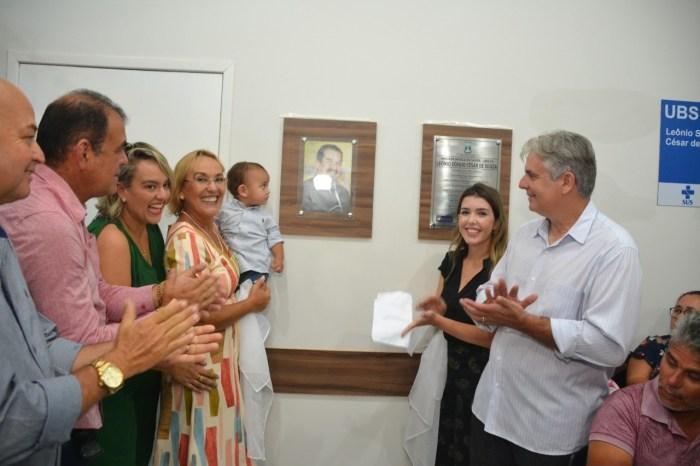 População monteirense prestigia inauguração de mais uma Unidade Básica de Saúde