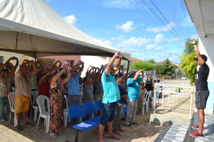 UBS 07 realiza atendimentos especiais a pacientes Obesos, Hipertensos e Diabéticos em Monteiro