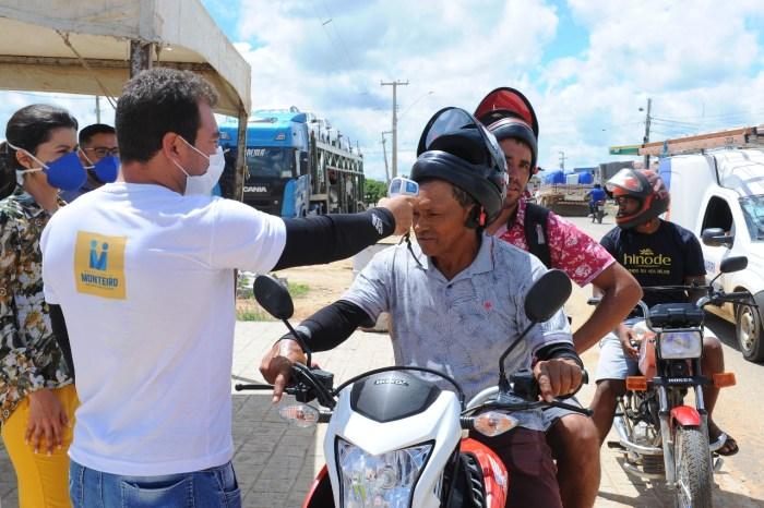 Vigilância em Saúde intensifica ações de combate ao Coronavírus no município de Monteiro