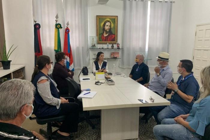 Anna Lorena se reúne com representantes bancários para ampliação da prevenção e apoio no atendimento