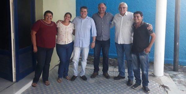 MOÍDOS DA REDAÇÃO: Felisardo Moura e outros 11 pré-candidatos a vereador se filiam ao Democratas