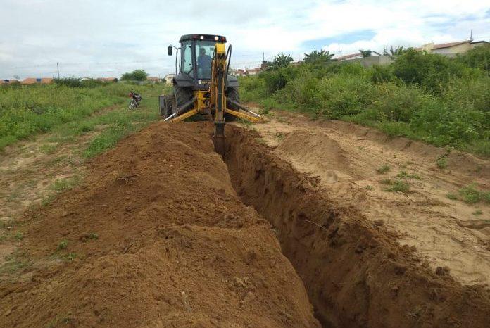Governo do Estado contempla município de Assunção com extensão da rede de água