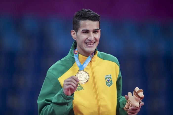 Edival Marques já sonha com medalha nas Olimpíadas de Tóquio