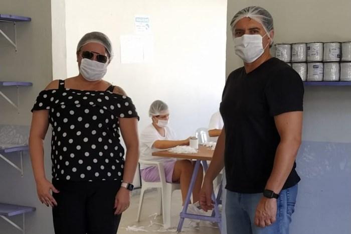 Reeducandas produzirão máscaras para policiais e bombeiros