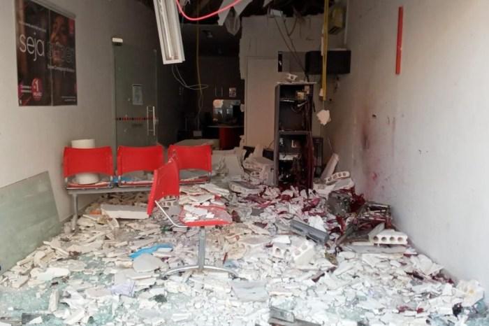 Agência bancária é explodida e lotérica é arrombada na Paraíba
