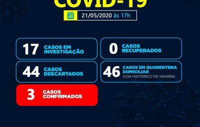 Secretaria de Saúde de Sumé registra terceiro caso de Covid-19 no município