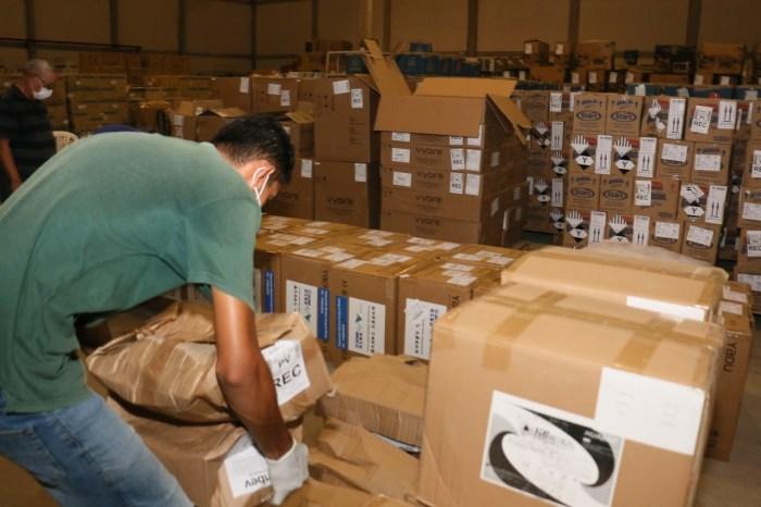 Paraíba recebe respiradores amplia oferta de leitos de UTI