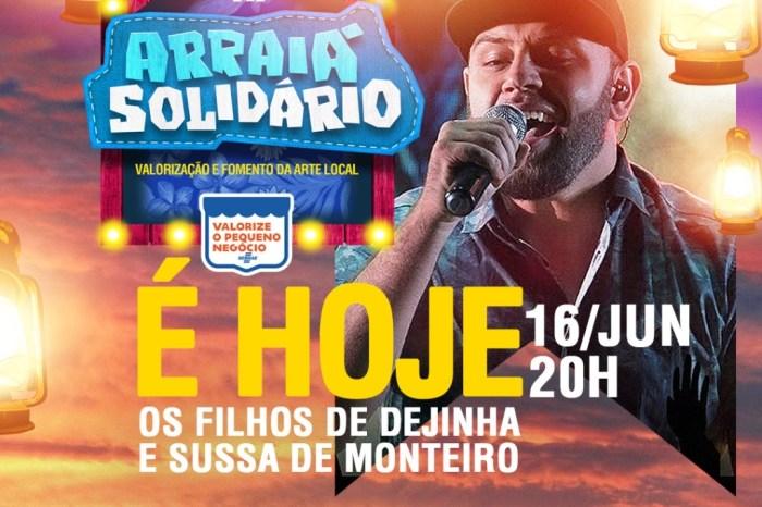 Tributo a Dejinha de Monteiro dá início ao Arraiá Solidário em defesa da cultura monteirense