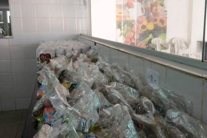 Contra o Coronavírus: Beneficiários do Programa Sopa da Gente recebem kits de higiene