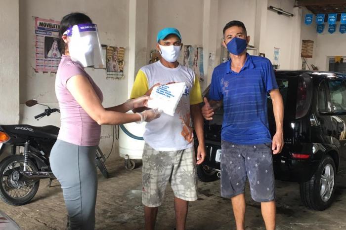 Campanha contra o Trabalho Infantil orienta lavajatos do município de Sumé