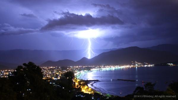 Brasil registra maior raio do mundo, com 709 km de extensão