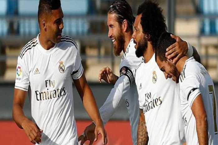 Com gol de brasileiro, Real Madrid vence e ainda luta pelo título