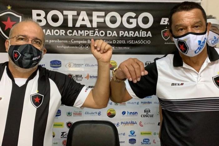 Mauro Fernandes é apresentado oficialmente ao Bota-PB