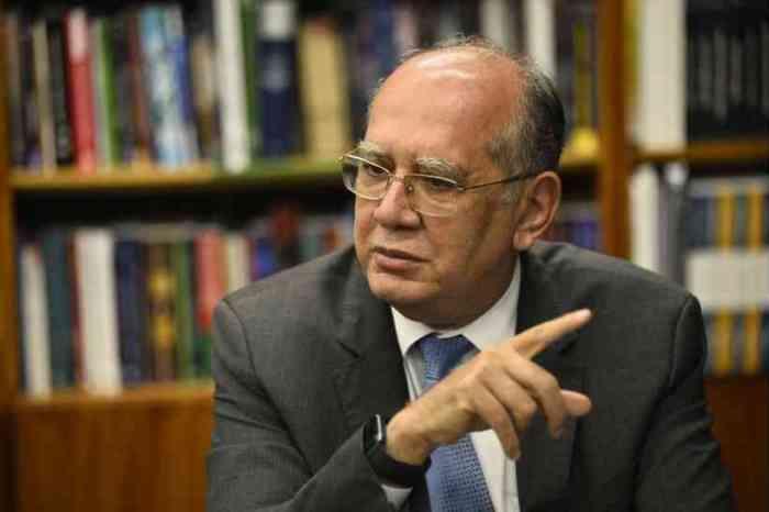 Estimular a invasão de hospitais é crime, diz ministro Gilmar Mendes