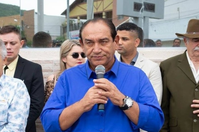 Prefeito de Ingá morre em hospital de Campina vítima da covid-19