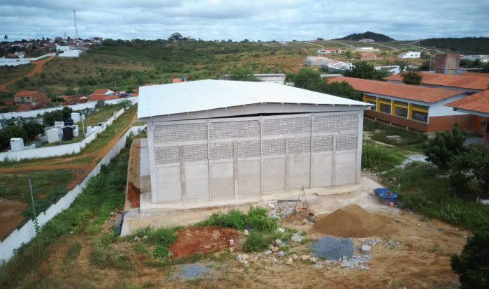 Prefeito de Boqueirão agradece ao governador João Azevêdo pela construção de ginásio